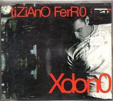 TIZIANO FERRO raro CD single 3 tracce 2001 XDONO made in ITALY