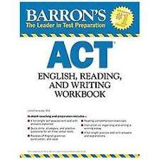 Barron's ACT English, Reading and Writing Workbook, 2nd Edition by Linda Carneva