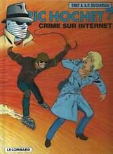 TIBET . RIC HOCHET N°60 . CRIME SUR INTERNET . EO . 1998 .