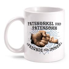 Patenonkel Patensohn Tasse bedruckt Spruch Geburtstag Geschenk Idee Paten Kind