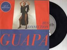 BUS CONNECTION  disco 45 giri  ITALY  Guapa SIGLA TV Disco Ring STAMPA ITALIANA