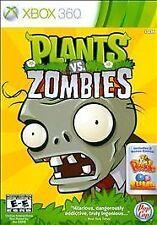 PLANTS VS ZOMBIES Microsoft XBox 360 Game