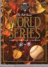 1993 World Series Program Blue Jays/Phillies