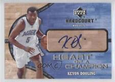 2006 Upper Deck Hardcourt HC-KD Keyon Dooling Orlando Magic Auto Basketball Card