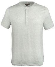 Michael Kors Men's Henley Short Sleeve Shirt
