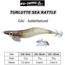 Turlutte Jig Lure FU-SHIMA SEA RATTLE Sable Calamars Seiches Squid Cuttlefish