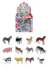 Mini Farm Figure Animals Cow Sheep Goat Horse Dog Kidz Toy Party Bag Figure lot