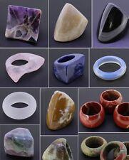 Edelsteinring Edelstein Ring Fingerring verschiedene Edelsteine & Größen