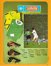 """Publicité Ancienne """" Vêtements de sport la Hutte 1976 """""""