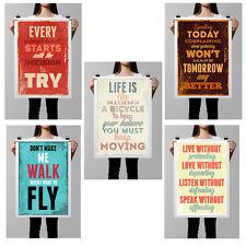 "Silk Canvas Poster Inspirational Motivational Quotes 16""x24"" Art Wall Decor SC2"