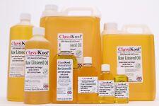 Classikool 100% Pharma EUR Food Grade Edible Raw Linseed Flaxseed Oil Cold Press