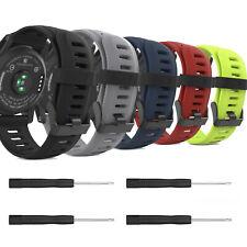 MoKo 2pcs Silicone Replacement Watch Band Straps for Garmin Fenix 3/HR/Fenix 5X