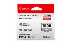 Canon PFI-1000 GY Grey Ink Cartridge (0552C001)