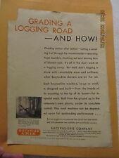 1929 Ad Bucyrus-Erie Company Shovels Excavating Engineer Magazine Logging Camp