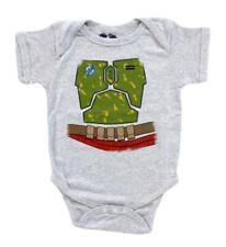 Infant Baby Space Syfy Movie Star Wars I Am Boba Fett Costume Romper