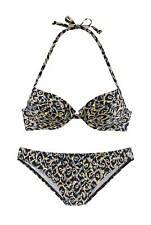 Sunseeker Marken-Push-Up-Bikini, schwarz-bunt Cup AA  A B C UVP: € 59.99