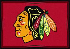 "5x8 Milliken Chicago Blackhawks Sports NHL Spirit Area Rug - Approx 5'4""x7'8"""