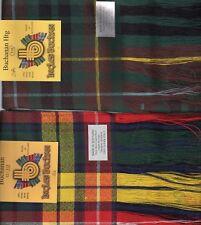 Tartan Sash Clan Buchanan Ladies Scottish Wool Plaid