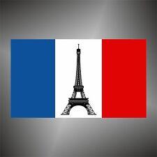 adesivo bandiera Francia France flag sticker autocollant pegatina aufkleber