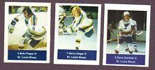 1974-75 Acme Loblaws Hockey Bob Plager St Louis Blues