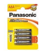 PILAS PANASONIC (1,5V) AAA ALCALINAS ALKALINAS LR3 -LR03 -LR3T/4B