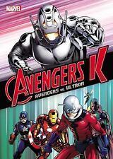 Avengers K Book 1: Avengers vs. Ultron, Park, Ji Eun, Park, Si Yeon