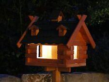 nichoir mangeoire nichoir avec TYPE D'éclairage solaire 8