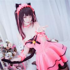 DATE A LIVE Tokisaki Kurumi Cosplay Costume Dress Nightmare Girl Women Uniform