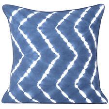 Cushion Cover Tie Dye Pillow Indigo Shibori Case Throw Indian Square Decorative