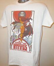 Les frisson des vampires T shirt French film d'horreur Poster W356 Gothique Dracula