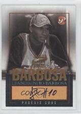 2003-04 Topps Pristine #PEA-LB Leandro Barbosa Phoenix Suns Auto Basketball Card