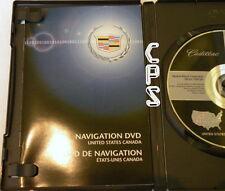 2005 2006 2007 Cadillac STS & Chevrolet Corvette Navigation DVD Map V.1.00
