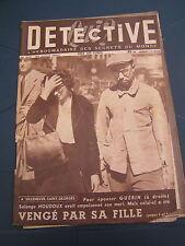 Détective 1950 YSSANDON LACQ HANSI TALMONTIERS BALLAN