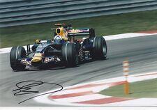 David Coulthard signed 12x8 Image E photo  UACC Registered dealer COA