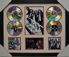LED ZEPPELIN 4CD SIGNED FRAMED MEMORABILIA LIMITED EDITION