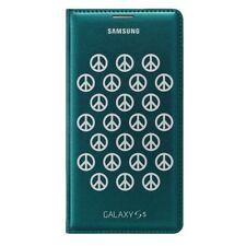 Samsung Original Flip Cover EF-WG900 Galaxy S5,Moschino Grün,Case,Tasche