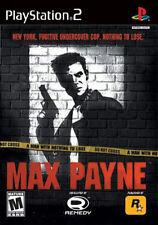 Max Payne (Sony PlayStation 2, 2001) - European Version