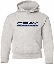 Cray Supercomputer Vintage Logo HOODY