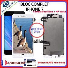 BLOC COMPLET ECRAN LCD ASSEMBLÉ VITRE TACTILE IPHONE 7  NOIR ou BLANC