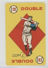 1957 Ed-U-Cards Baseball Game #12 Double Card
