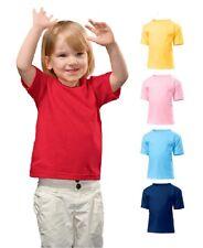 HANES Coton Uni tout-petit T-shirt T-shirt Aucun Logo