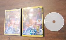 DVD La principessa e il ranocchio WALT DISNEY originale