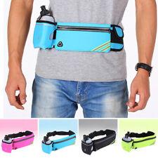 4 Colors Waist Bag Belt Adjustable Water Bottles Pack Fitness Stretch Outdoor