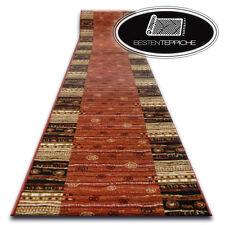 Modern Runner Agnella Optimal Arne Terracotta Stripes Wide 67-150 cm Fashionable