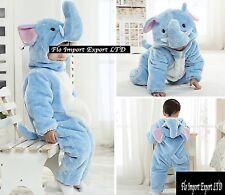Elefante Costume Carnevale Calda Tuta Bambini Elephant Costume Onesie ELEF01
