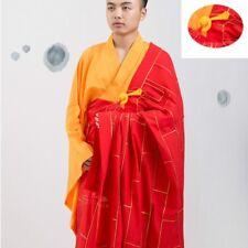 Kesa Moine Robe Zen Méditation Bouddhiste Prêtre Soutane Shaolin Temple