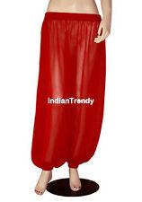 Red - Harem Yoga Pant Belly Dance Club Tribal Costume Pantalons Trouser Genie