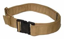 Genuine British Army Surplus PLCE Desert Combat Trousers Webbing Canvas Belt