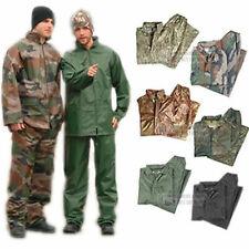Adulti Da Uomo Militare Esercito Impermeabile RainSuit impostare Giacca Con Cappuccio & Pantaloni-Nuovo