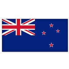 """New Zealand National Flag car bumper sticker 5"""" x 4"""""""